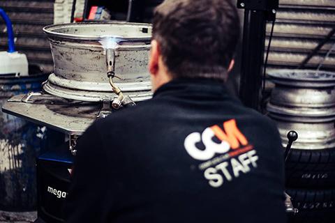 Ali Wheel Rim Repairs at CCM Garages