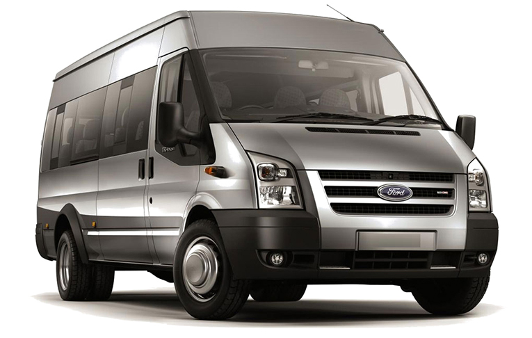 Minibus Ford Transit servicing and repairs at CCM Garage