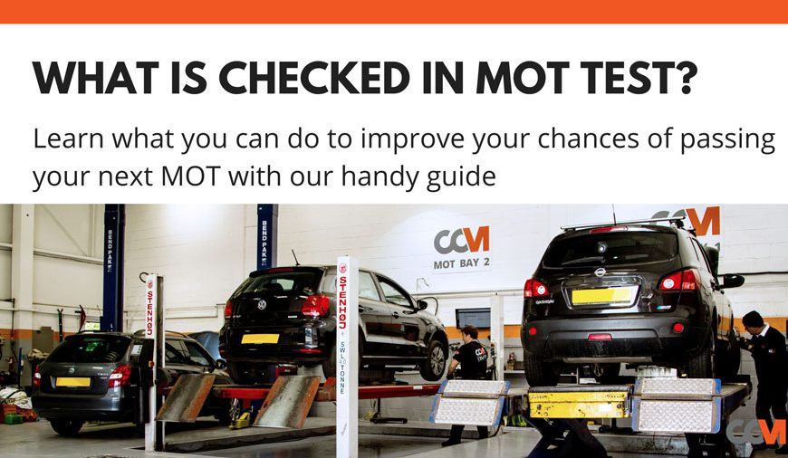 What is Checked in an MOT test?