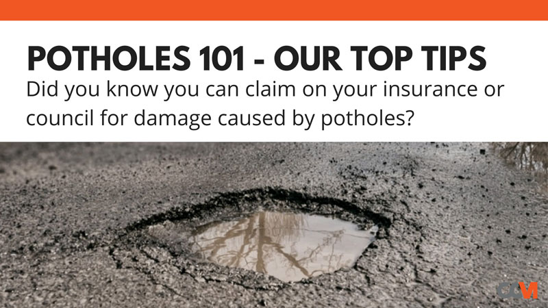 Potholes 101 – Our Top Tips