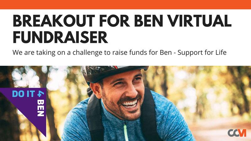 Breakout For Ben Virtual Fundraiser