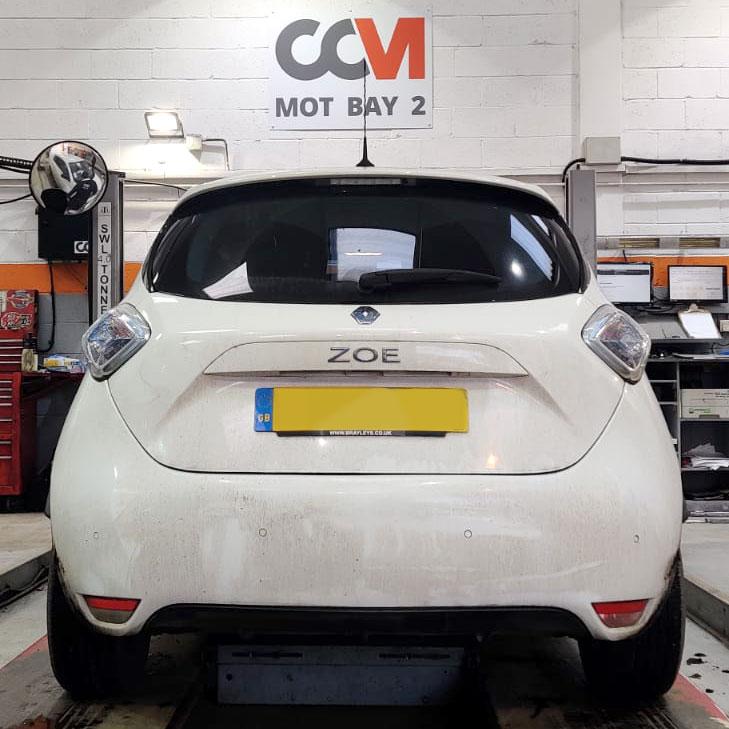 Electric Vehicle Repair Renault Zoe at CCM Garages
