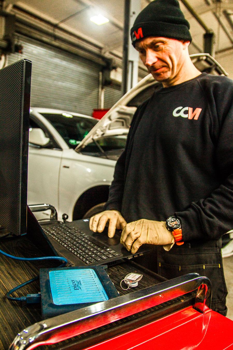 VAG Diagnostics at CCM Garages