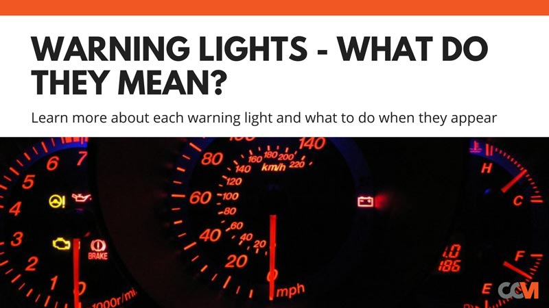 Car Warning Lights and Their Meanings