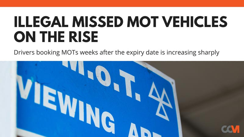 High Increase in Drivers Missing MOT Expiry Dates in 2021