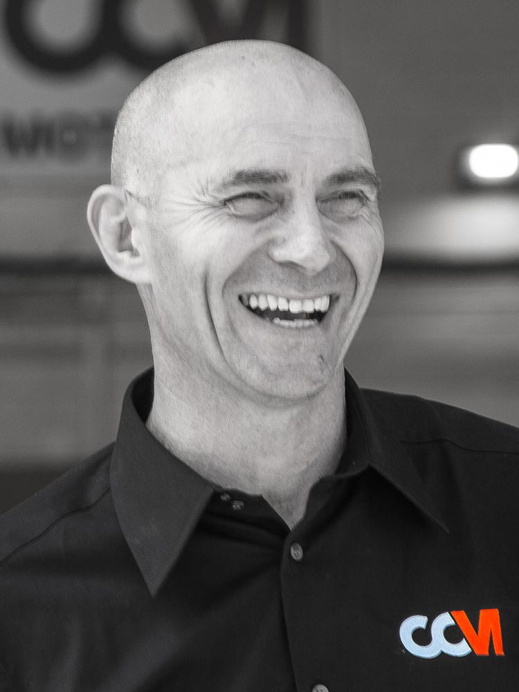 Stuart White Owner of CCM Garages