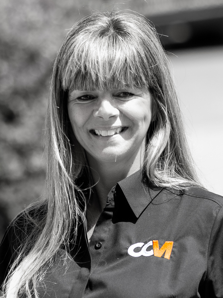 Tina Drayson Operations Manager of CCM Garages