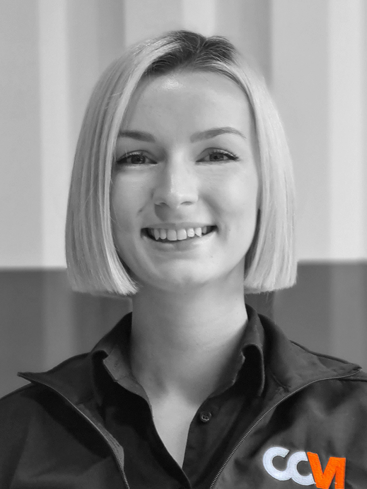 Hannah Marketing Executive of CCM Gatwick