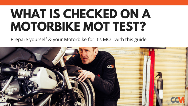 What is Checked on a Motorbike MOT Test?